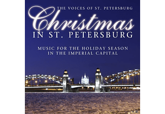 The Voices Of St. Petersburg - Christmas In St. Petersburg - (CD)