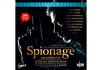 Spionage - 1 MP3-CD - Hörbuch