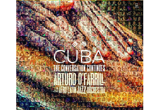 Arturo O'farrill & The Afro Latin Jazz Orchestra Cuba - The Conversation Continued CD