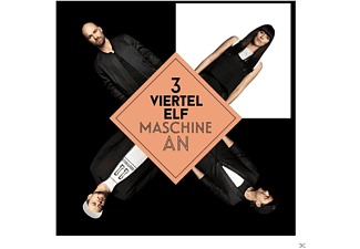 3viertelelf - Maschine An [Maxi Single CD]