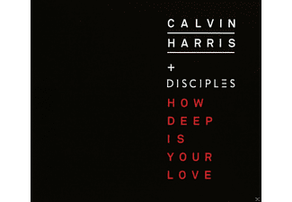Calvin Harris, The Disciples - How deep is your love - (5 Zoll Single CD (2-Track))