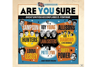 Various - Are You Sure-Great British Record Labels:Fontana [CD]
