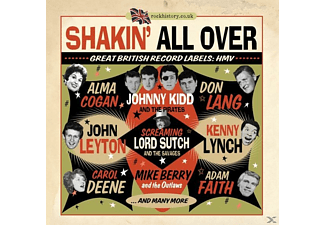 Various - Shakin' All Over-Great British Record Labels:Hmv - (CD)