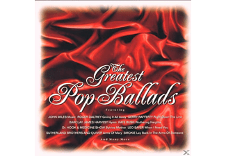 VARIOUS - The Greatest Pop Ballads - (CD)