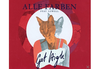 Alle Farben, Lowell - Get High - (5 Zoll Single CD (2-Track))