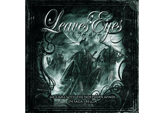 Leaves' Eyes - WE CAME WITH THE NORTHERN WINDS/EN SAGA I BELGIA [CD + DVD Video]