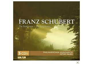 Franz Schubert, Peter Maag, Philharmonia Hungari - Die Sinfonien / The Symphonies - (CD)