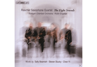 Stuttgarter Ko, Rascher Saxophonquartett, Engelen - The Eight Sounds - (CD)