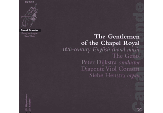 VARIOUS, The/dijkstra/diapente Viol Consort/+ Gents - The Gentlemen Of The Chapel Royal - (CD)