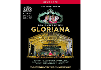 VARIOUS, Orchestra Of The Royal Opera House, Royal Opera Chorus - Gloriana - (Blu-ray)
