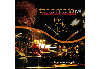 Tania Maria, Frankfurt Radio Bigband - It's Only Love - (LP + Bonus-CD)