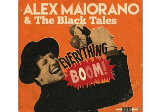 Alex & The Black Tales Maiorano - Everything Boom [CD]