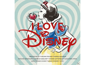 VARIOUS - I love Disney - (CD)