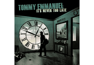 Tommy Emmanuel - It's Never Too Late - (CD)