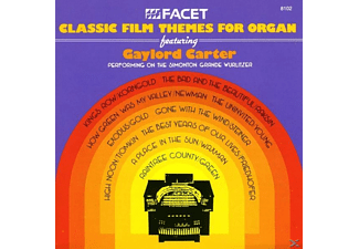 Gaylord/wurlitzer-orgel Carter - Classic Film Themes - (CD)