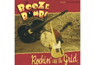 The Booze Bombs - Rockin' Off The Grid - (CD)