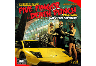 Five Finger Death Punch - American Capitalist [CD]