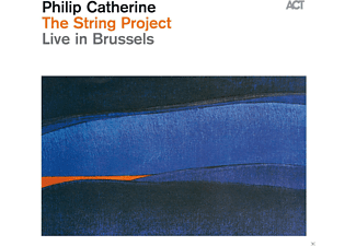 Philip Catherine - The String Project-Live In Brussels - (CD)