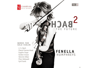 Fanella Humphreys - Bach-The Future [CD]