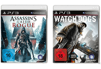 Big Hit Pack (mit Assassin's Creed Rogue & Watch Dogs) - PlayStation 3