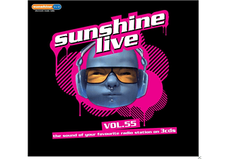 Various - Sunshine Live 55 - (CD)