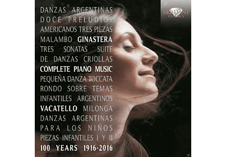 Mariangela Vacatello - Complete Piano Music - (CD)