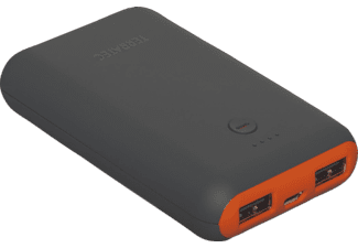TERRATEC P3 Powerbank 7800 mAh Grau/Orange