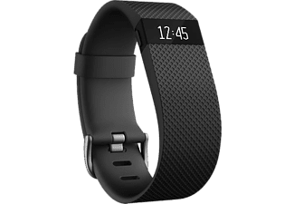FITBIT Charge HR - Svart (Stor)