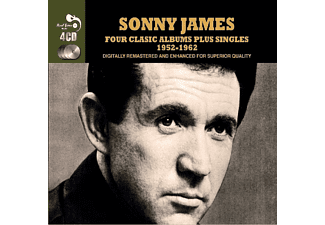 Sonny James - 4 Classic Albums+Singles [CD]