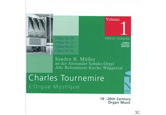 SANDRO R. Mueller - L'Orgue Mystique Vol.1 - (CD)