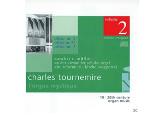 SANDRO R. Mueller - L'Orgue Mystique Vol.2 - (CD)