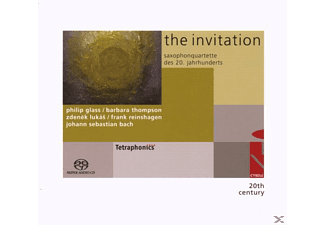 Tetraphonics Saxophone Quartet - THE INVITATION - SAXOPHONE QUARTETS - (CD)