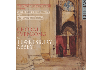 Abbey School Choir Tewkesbury/Nicholas - Choral Evensong From Tewkesbury - (CD)
