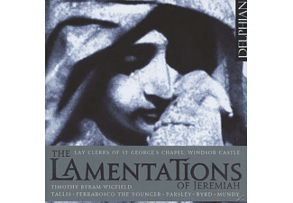 Lay Clerks St George's Chapel Windsor Castle - The Lamentations Of Jeremiah - (CD)
