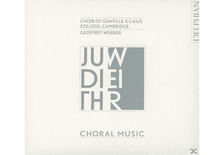 Gonville & Caius Coll.Choir Cambridge/Webber - Chormusik - (CD)