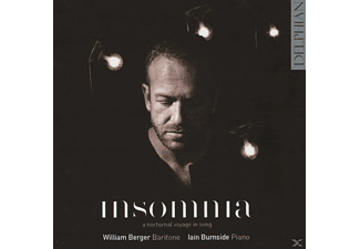 Berger,William/Burnside,Iain - Insomnia - (CD)