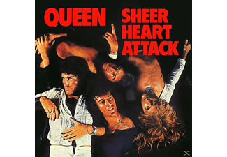 Queen - Sheer Heart Attack (Limited Black Vinyl) - (Vinyl)