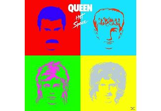 Queen - Hot Space (Limited Black Vinyl) - (Vinyl)