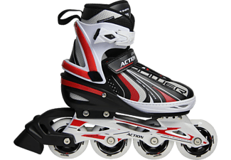 ACTION Paten M 35 38 Inline PW 152AE Red ABEC 5