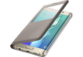 SAMSUNG S-View EF-CG928 Galaxy S6 Edge Plus Handyhülle, Gold