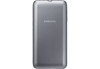 SAMSUNG Power EP-TG928 Backcover Samsung Galaxy S6 Edge Plus Kunststoff Silber