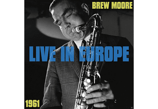 Brew Moore - Live In Europe 1961 - (CD)