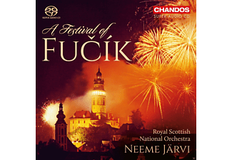Neeme Jarvi, Royal Scottish National Orchestra - A Festival Of Fucik-Orchesterwerke [SACD Hybrid]