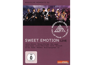 VARIOUS, Rock And Roll Hall Of Fame - RRHOF - SWEET EMOTION [DVD]