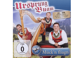 Ursprung Buam - Mück'n Fliagn - (CD + DVD Video)