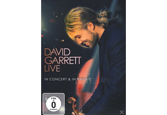 David Garrett - DAVID GARRETT LIVE-IN CONCERT & IN PRIVATE [DVD]