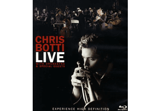 Chris Botti, VARIOUS - LIVE WITH ORCHESTRA AND SPECIAL GUESTS [Blu-ray]