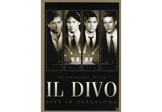 Il Divo - An Evening With Il Divo - Live In Barcelona [DVD]
