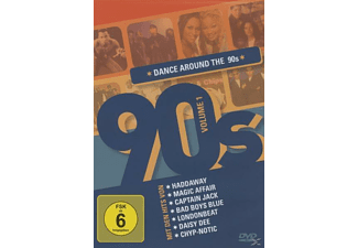 VARIOUS - Dance Around The 90's Vol.1 - (DVD)