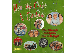 VARIOUS - Here We Come A-Caroling - (CD)